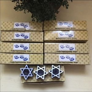 Other - 9 Sets Of 3 Floating Hanukkah Candles
